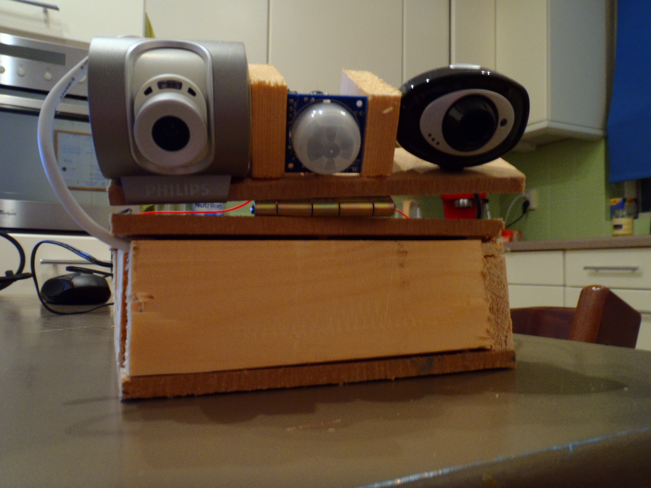 Build your own wireless IP camera